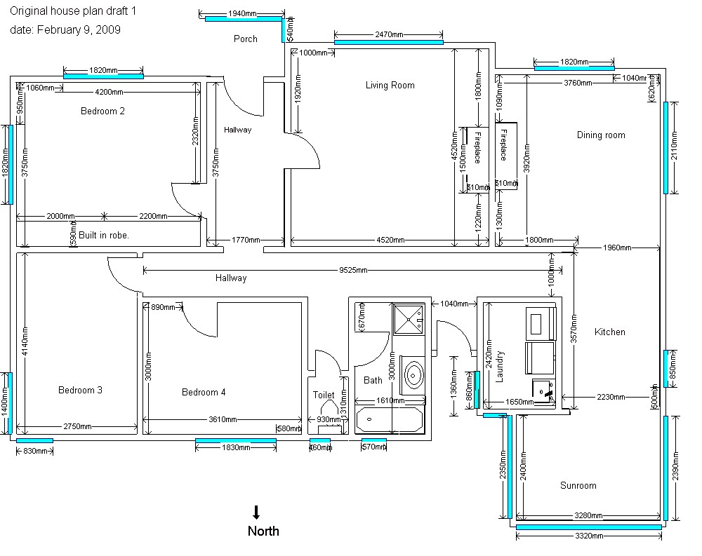1 3 floor plans a green tasmanian renovation page 2 House plans for mansions